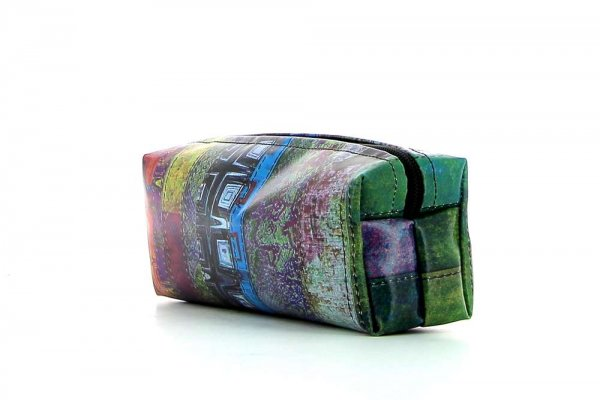 Pencil case Rabland Essenberg abstract background, geometric shapes, lines