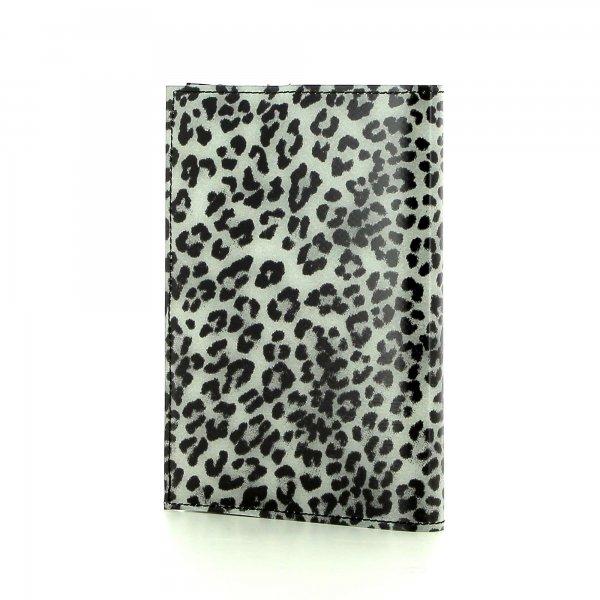 Notizheft Laas - A6 Treib Leopardenmuster, braun, schwarz, grau