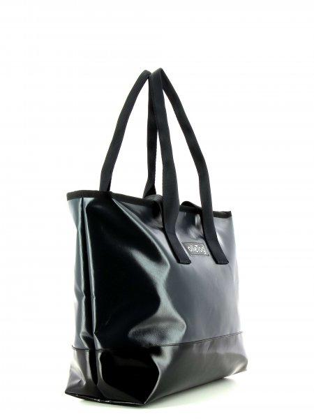 Shopping bag Lana Anthracite gray