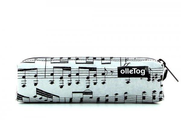 astuccio Marling XXX April grau musica, note, grigio, nero