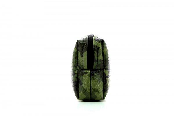 Kosmetiktasche Vilpian Feuer Camouflage, grün, braun
