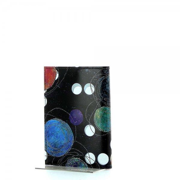 Notizheft Laas - A6 Selva Punkte, schwarz, bunt, weis, blau