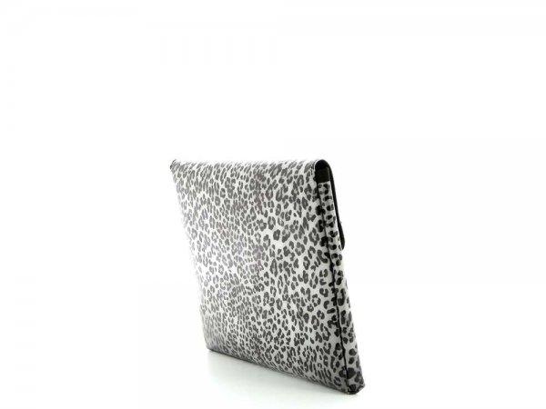 Tablettasche Eggen 11'' Treib Leopardenmuster, braun, schwarz, grau