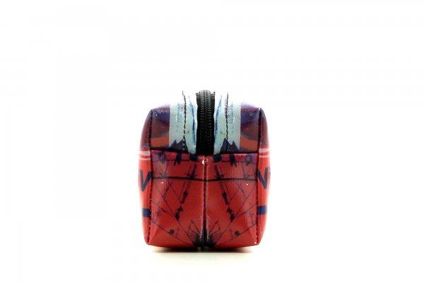 Kosmetiktasche Burgstall Schorn Grafiti, Schriften, abstrakt, rot, weis, blau