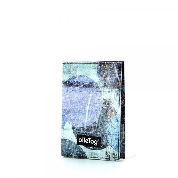 Notebook Laas - A6 Appolonia abstract, dots, blue