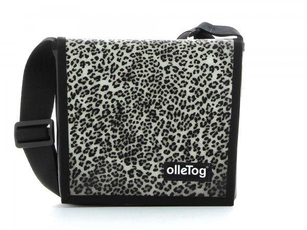 Umhängetasche Glurns Treib Leopardenmuster, braun, schwarz, grau