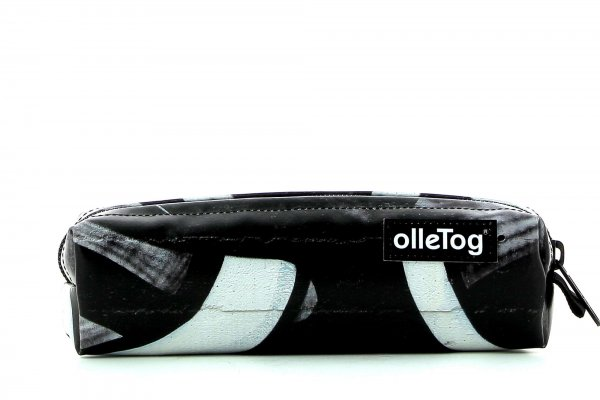 Pencil case Marling Pasquai graffiti, black & white