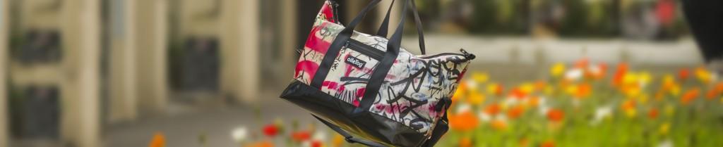 Reisetasche aus Kunstleder