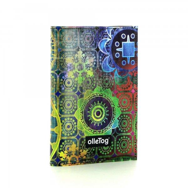 Notebook Laas - A6 Moorberg flowers, colorful, green, blue