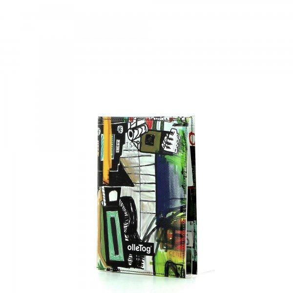 Notizheft Laas - A6 kino Abstrakt, bunt, Zeichnung