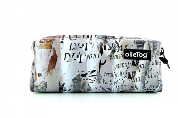 Pencil case Rabland Laranz collage of photos, scriptures, gold
