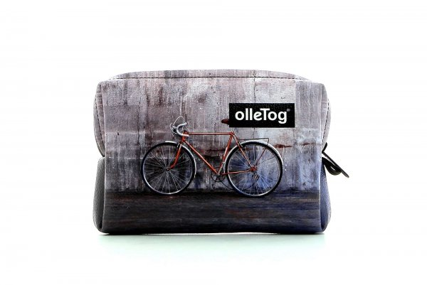 Cosmetic bag Vilpian Kranebit racing bicycle, wall