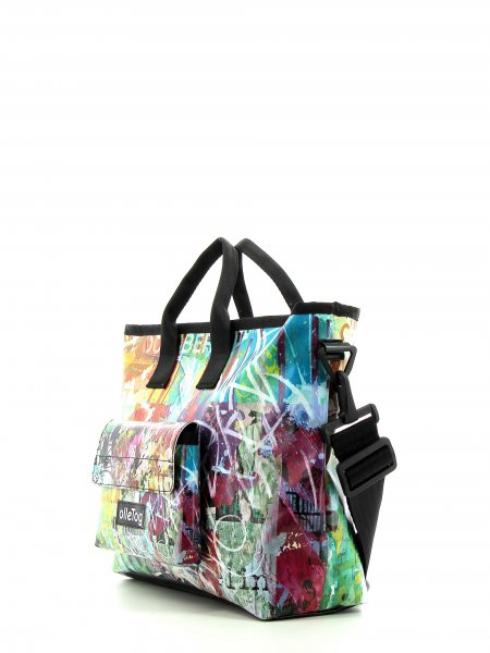 Shopping bag Tschars Meister Graffiti, Poster, Distort, Abstract, Textures, Colourful