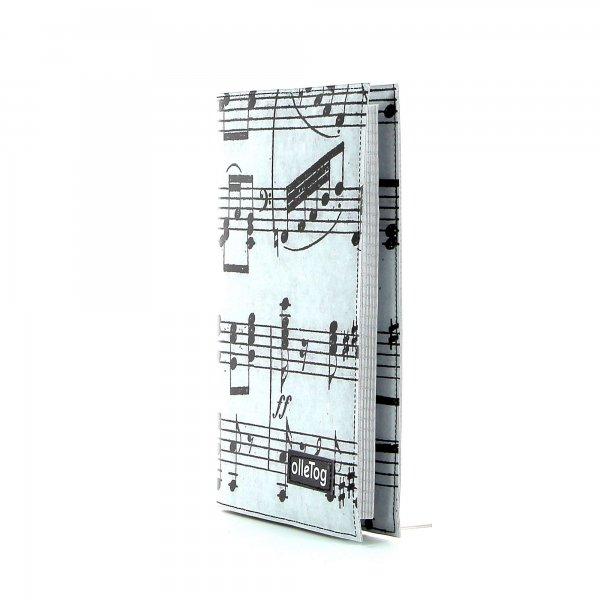 Notebook Tarsch - A5 XXX April grau music, notes, gray, black