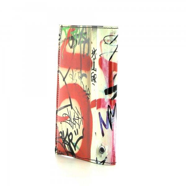 Notizheft Laas - A6 Haslacher Graffiti, Schriften, rot, weis, schwarz