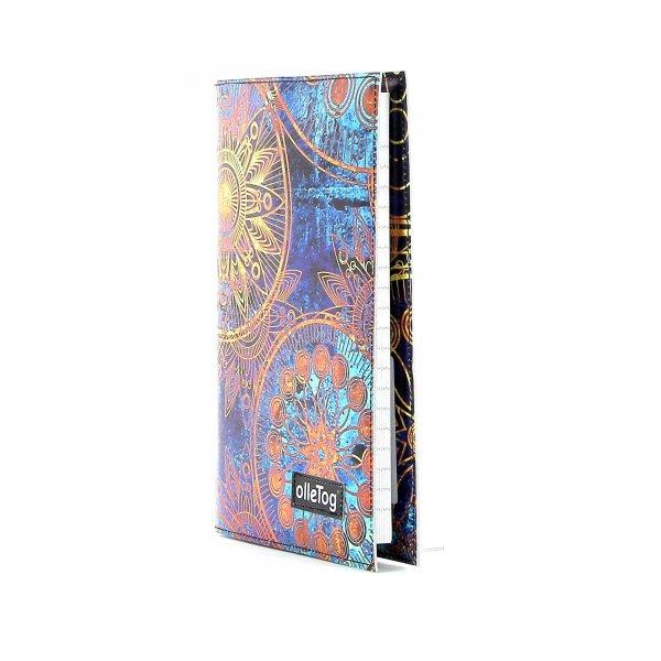 Notebook Tarsch - A5 San Marco flowers, blue, gold, yellow
