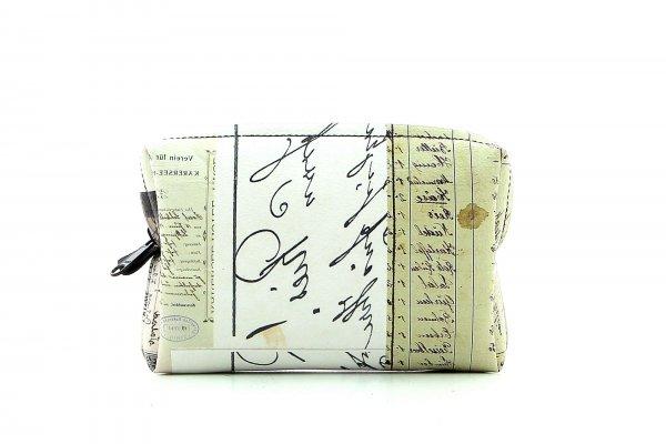 Cosmetic bag Vilpian Futzi car, collage, old timer, scriptures