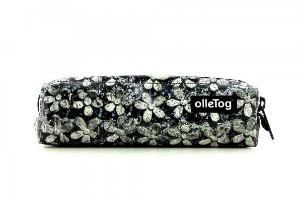 Accessories Federmäppchen Elsler Blumen, grau, schwarz