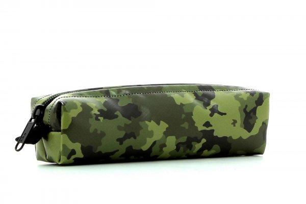 Federmäppchen Marling Feuer Camouflage, grün, braun