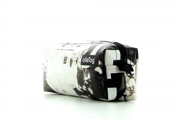 Pencil case Rabland Gumer billboard, scriptures, vintage, white, brown, black, white