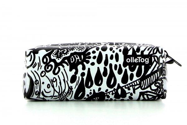 Pencil case Rabland Fenn graffiti, black & white