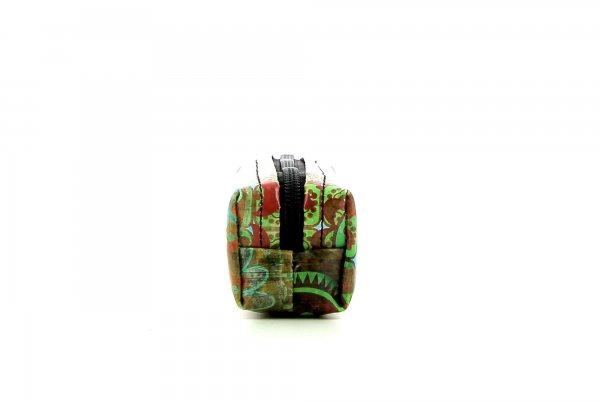 Federmäppchen Marling Moorberg Blumen, bunt, grün, blau