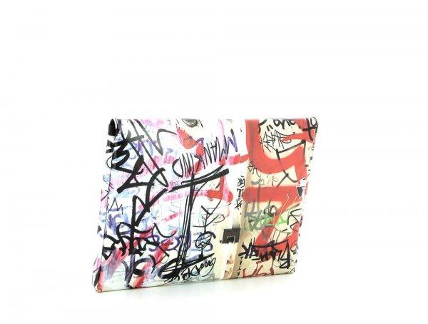 Tablettasche Eggen 11'' Haslacher Graffiti, Schriften, rot, weis, schwarz
