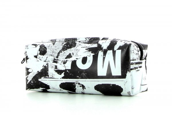 Federmäppchen Rabland Mitterer Weiß, schwarz, abstrakt, Schriften
