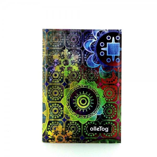 Notizheft Tarsch - A5 Moorberg Blumen, bunt, grün, blau