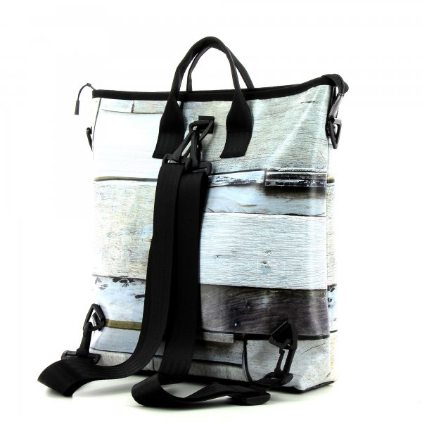 Backpack bag Pfalzen Plafat Geometric, white, grey, stripe, square, wall