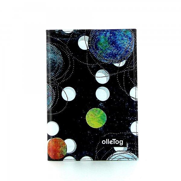 Notizheft Tarsch - A5 Selva Punkte, schwarz, bunt, weis, blau