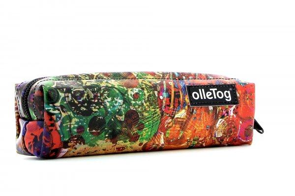 Federmäppchen Marling Schallhof Bunt, abstrakt, rot, blau, grün