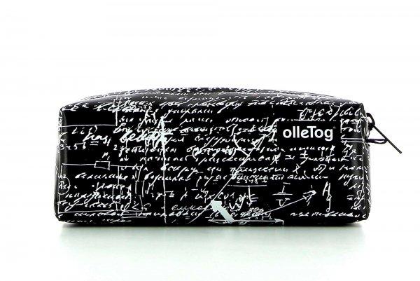 Pencil case Rabland Kaltegg scriptures, black, white