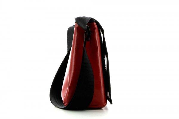 Messenger bag Eppan Fuehrmann racing cycle, retro, vintage, turquoise, white, black