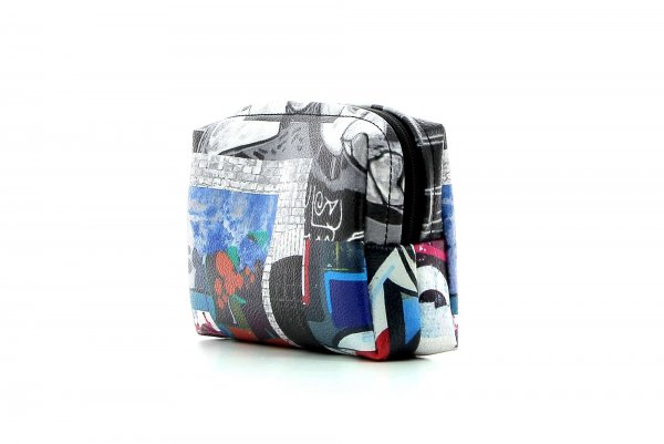 Cosmetic bag Vilpian Sandgrube photo collage, abstract background