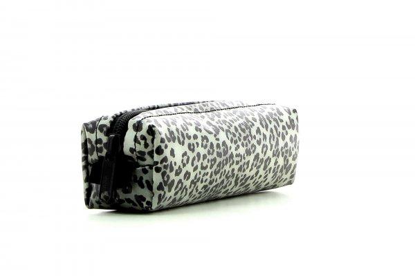 Federmäppchen Marling Treib Leopardenmuster, braun, schwarz, grau