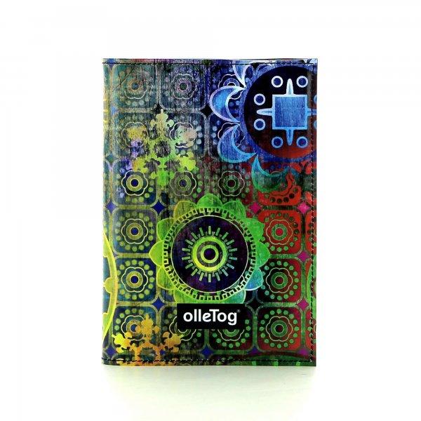 Notizheft Laas - A6 Moorberg Blumen, bunt, grün, blau