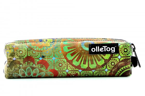 Pencil case Marling Moorberg flowers, colorful, green, blue