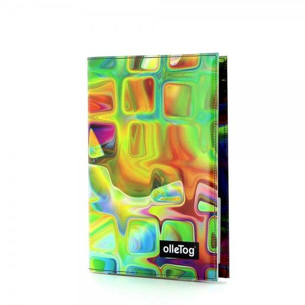Notizheft Tarsch - A5 Fleimstaler Geometrisch, abstrakt, bunt, gelb, blau, pink, rot, orange
