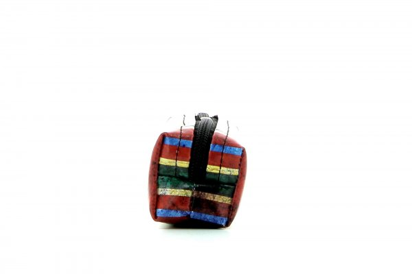 Pencil case Marling Pascoli stripes, blue, green, red, orange, geometric