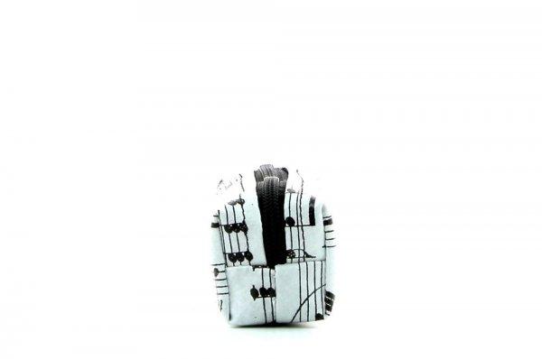 Pencil case Marling XXX April grau music, notes, gray, black