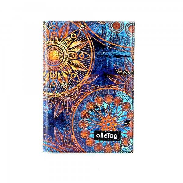 quaderno Tarsch - A5 San Marco fiori, blu, oro, giallo