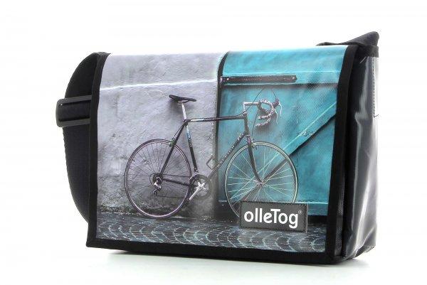 Messenger bag Eppan Kalvarien bicycle, turquoise