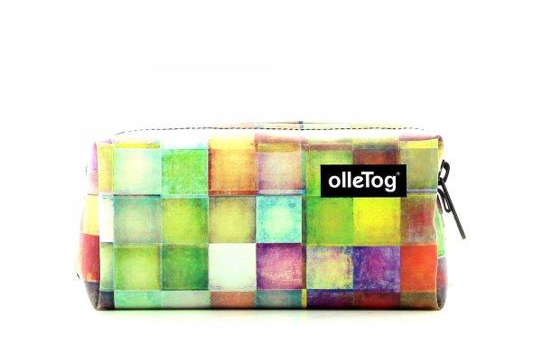 Accessory Walburg plaid, colored, geometric, yellow, white, pink, green, blue