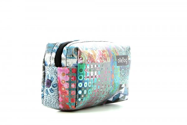 Cosmetic bag Burgstall Puni Patchwork, flowers, pattern, colourful, texture
