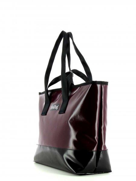 Shopping bag Lana bordeaux