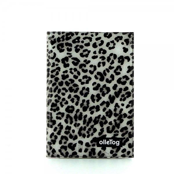 Büro & Zuhause Notizheft Treib Leopardenmuster, braun, schwarz, grau