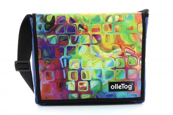 Taschen Fleimstaler Geometrisch, abstrakt, bunt, gelb, blau, pink, rot, orange