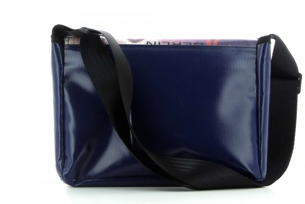 Messenger bag Eppan Schorn graffiti, writings, abstract, red, white, blue