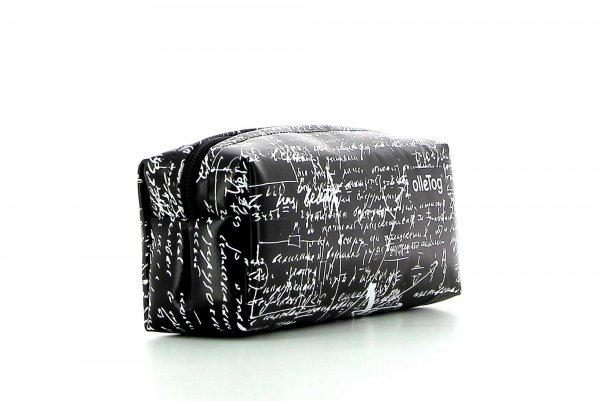 Federmäppchen Rabland Kaltegg Schriften, schwarz, weiss